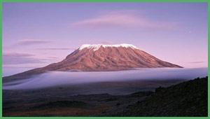Il Kilimangiaro montagna più alta