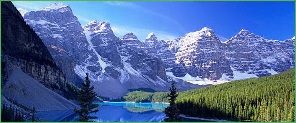 La natura con il Canada