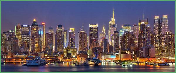 La città di New York o la Grande Mela