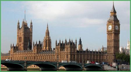 Londra capitale dell'Inghilterra