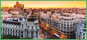Madrid capitale della Spagna