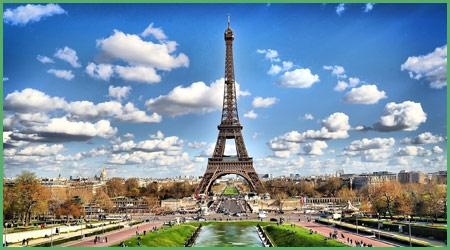 Pasrigi capitale della Francia