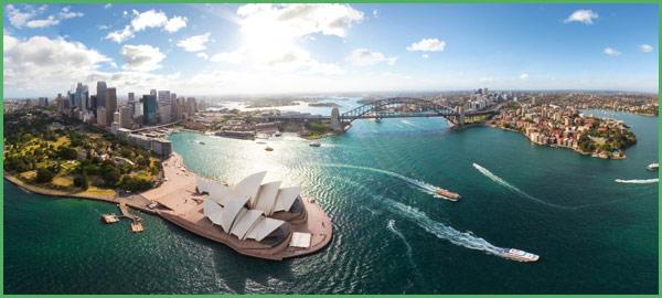 Sydney veduta aerea