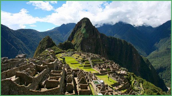 Gli scavi di Machu Picchu