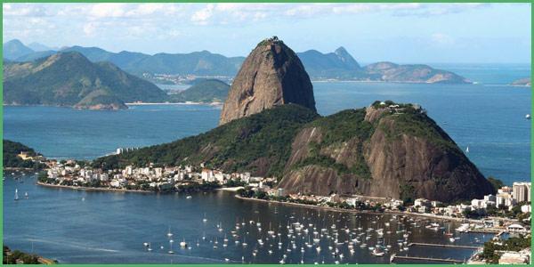 Il Pan di Zucchero in Brasile