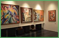 Una sala del Museo del Novecento