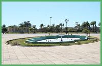 Fontana nella piazza principale