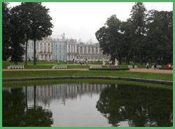 Laghetto artificiale del Palazzo di Puskin