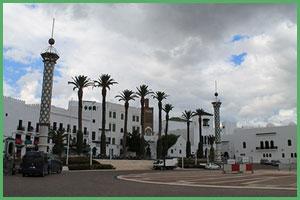 Piazza principale di Tétouan