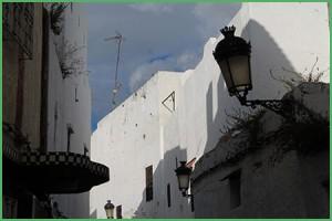 Caratteristico borgo marocchino