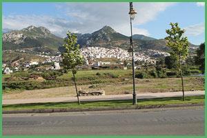 Monti del Rif fotografati dal pullman