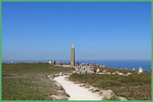 Vista particolare di Cabo da Roca
