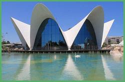 Entrata del Museo Oceanografico di Valencia