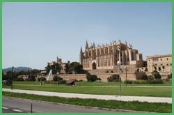 La cattedrale di Santa Maria a Palma di Maiorca