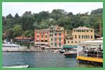 Particolare del porto di Portofino