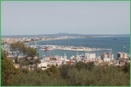 Panorama su Palma di Maiorca