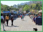Mercato locale sull'isola di Elephanta