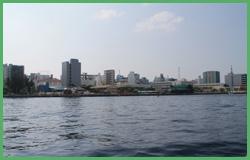 Isola di Malè vista dal mare