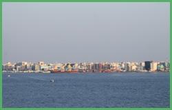 Lato est dell'isola di Malè