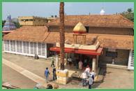 Vista dall'alto del Tempio di Shri Manjunatha a Kadri