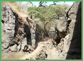 Esterno alla Grotta di Elephanta