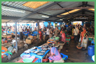 Mercato del pesce fresco