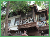 Entrata della casa di Gandhi
