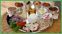 Un piccolo esempio di cucina indiana